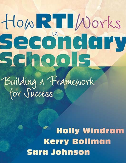 How RTI Works in Secondary Schools