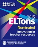 2015 ELTton Award Finalist