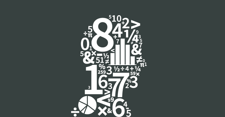 Numbers composing a person