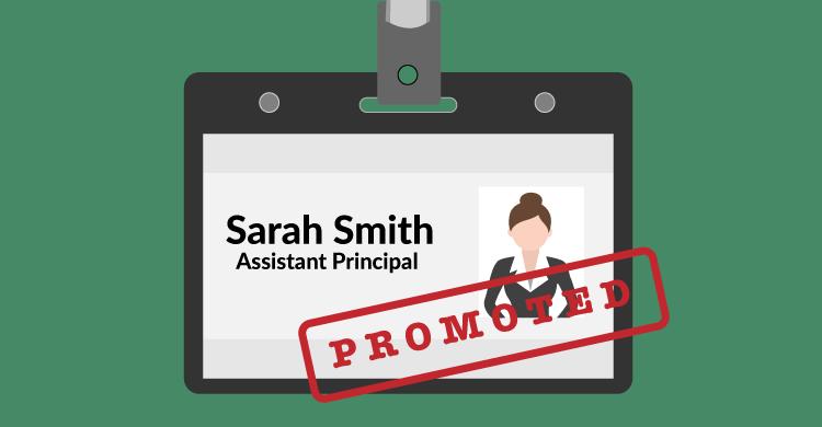 Seeking a promotion as a teacher