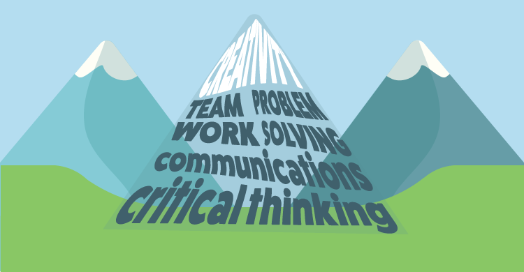 Creativity, Teamwork, Problem Solving, Communications, Critical Thinking