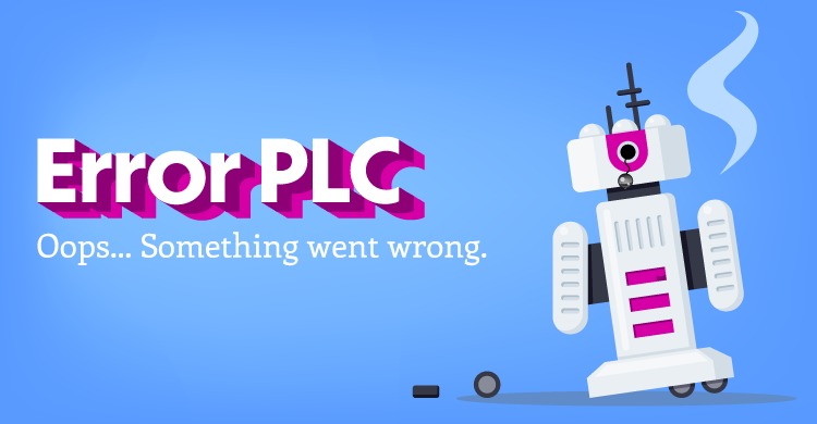 Error PLC: Oops, something went wrong.