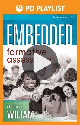 Embedded Formative Assessment PD Playlist