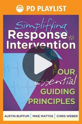 Simplifying Response to Intervention PD Playlist
