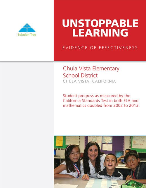 Unstoppable Learning Evidence: Chula Vista Elementary School District