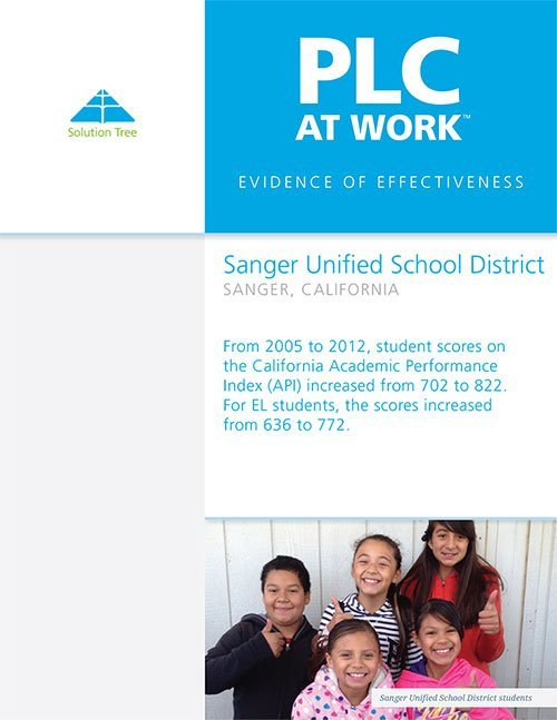 Sanger Unified District Success Story